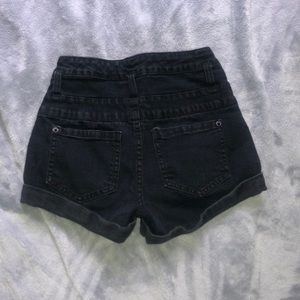 Mossimo Supply Co. Shorts - black high waisted shorts